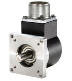 "Encoder Products Company Model 702, a rugged 2.0"" diameter shaft encoder"